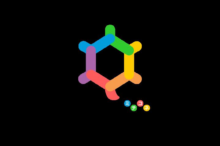 お道の人の得意をつなげるマッチングサービス「ミチコネ」ロゴマークデザイン