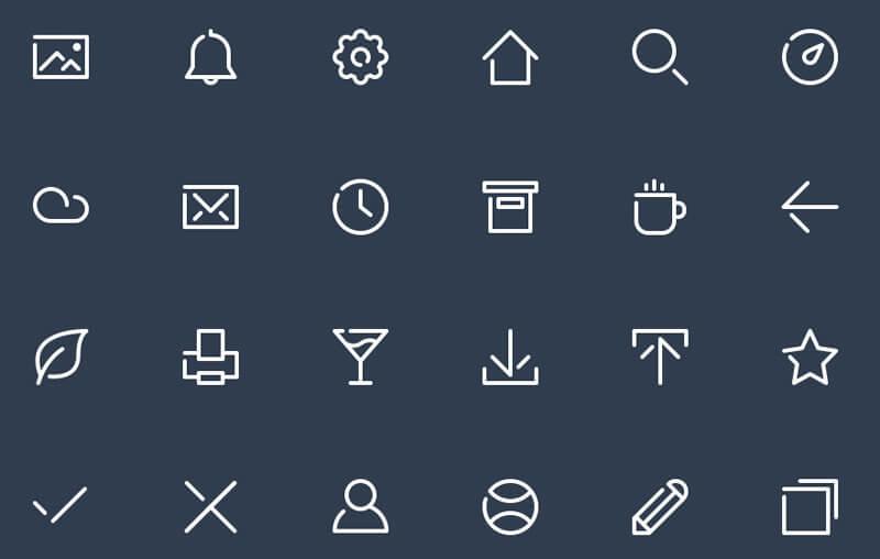 Freeline Icons