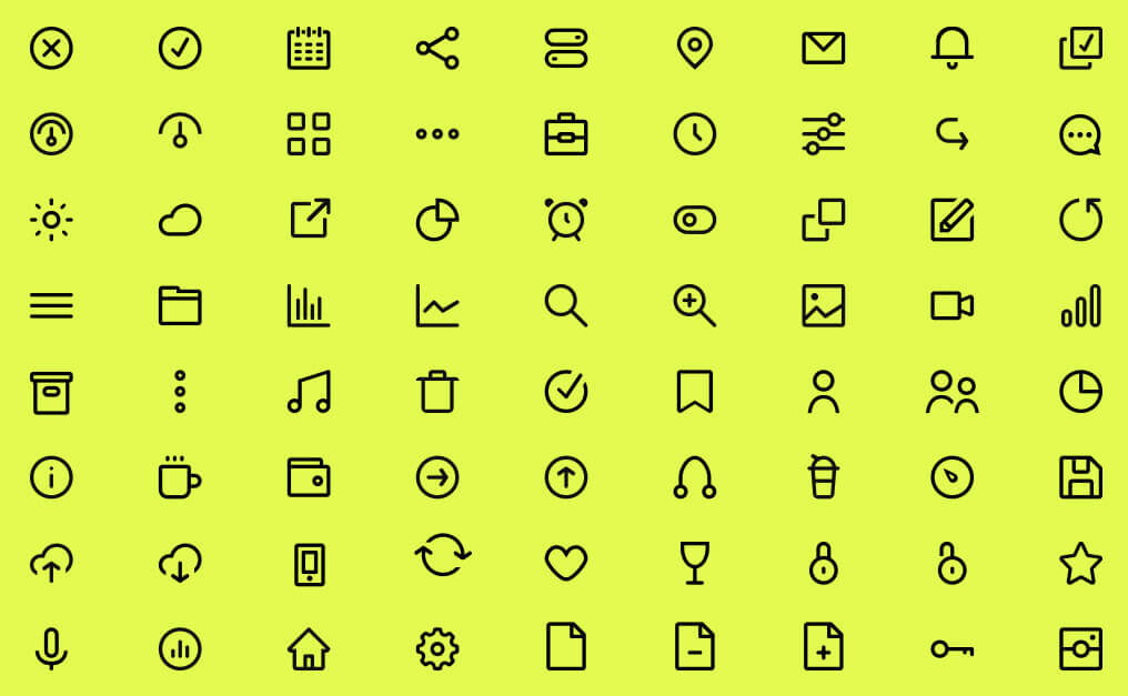 72 Free Icons