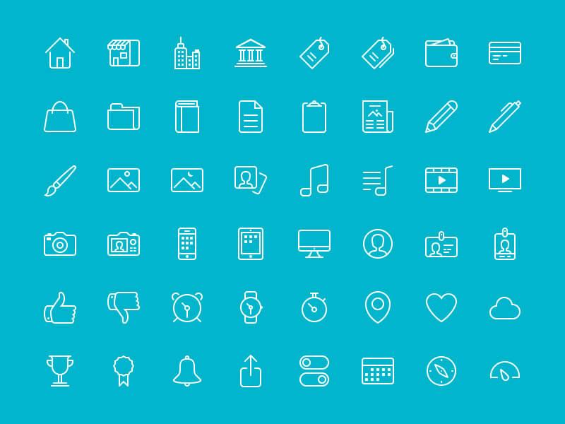 48 Bubbles Iconset