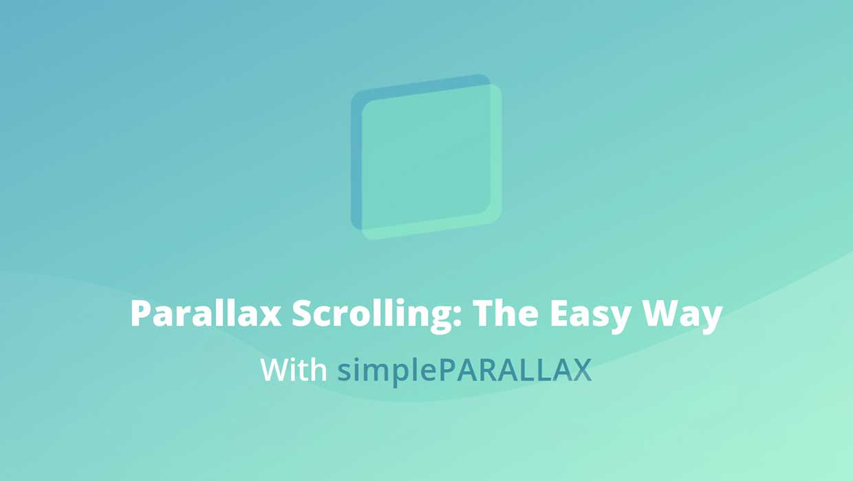simplePARALLAX.jsで画像にパララックス効果を